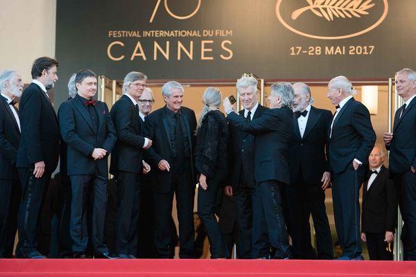 """Une impressionnante """"brochette"""" de réalisateurs sur le tapis rouge"""