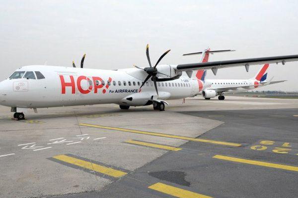 Un vol régional de la compagnie Hop, par Air France