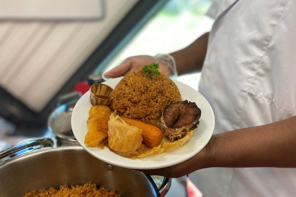 """Le Tchieboudiene ou Tchieb, un des plats phare d'Akady, """"celui qui met tout le monde d'accord"""""""