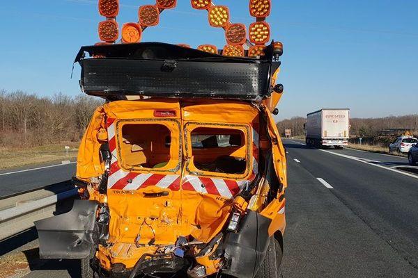Mercredi 27 février, un accident s'est produit vers 9h sur l'autoroute A20 à Argenton-sur-Creuse, dans le sens Limoges-Paris.
