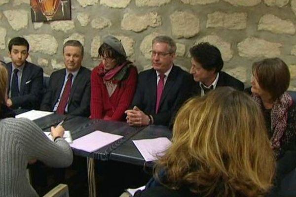 Nicolas Dupont-Aignan soutient les candidats picards