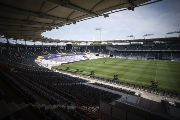 Le Stadium de Toulouse va rester vide pour le prochain match du TFC face à Auxerre