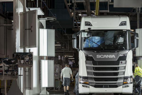 Scania Production Angers - assemblage nouvelle génération de camions - SM34