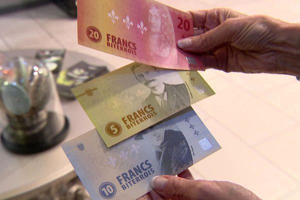 Béziers (Hérault) - la mairie lance une nouvelle monnaie, le Franc biterrois - septembre 2021.