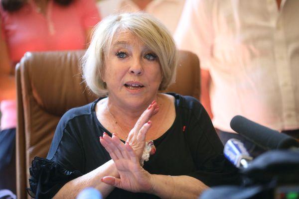 Maryse Joissains était maire d'Aix-en-Provence depuis 2001.