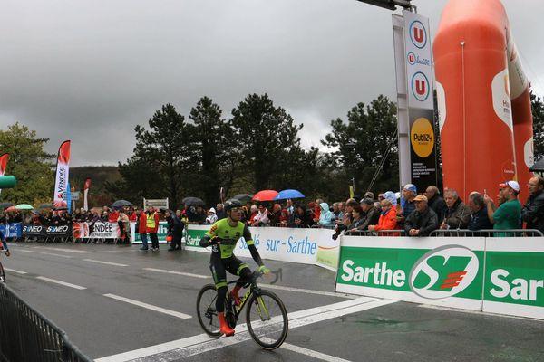 Justin Jules remporte la première étape du circuit cycliste Sarthe-Pays de la Loire