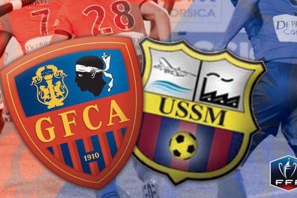 02/01/15 - Coupe de France: Le GFCA se qualifie face l'US Sainte-Marienne (2-0)