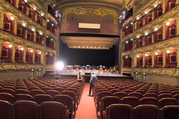 L'Opéra Nice Côte d'Azur.