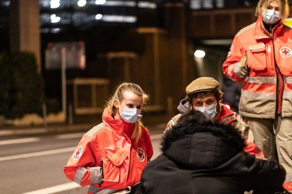 Une équipe de la croix-Rouge en maraude (photo d'illustration)