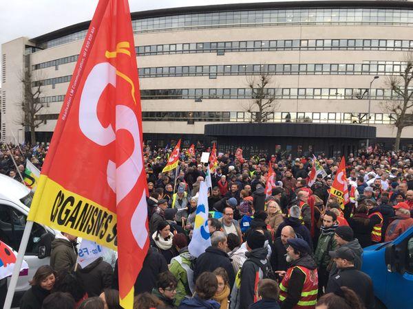 La mobilisation à Rouen