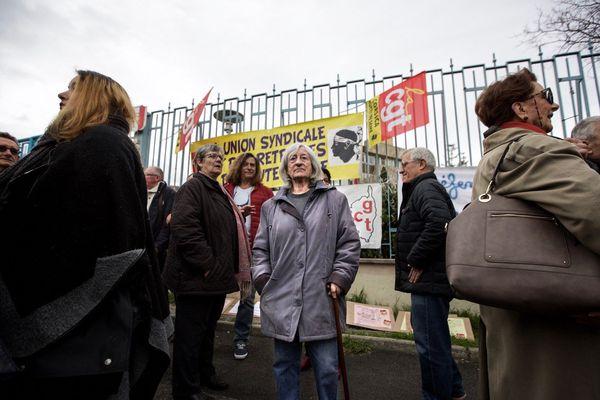 Les retraités ont également manifesté à Bastia.