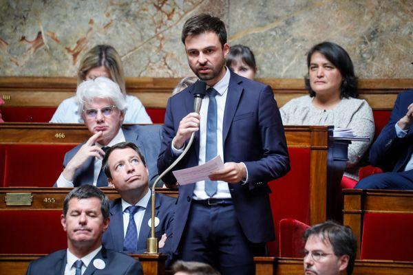 Pierre Henriet dans l'hémicycle de l'Assemblée Nationale, le 9 juillet 2019