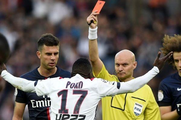 Le carton rouge de Poko face au PSG