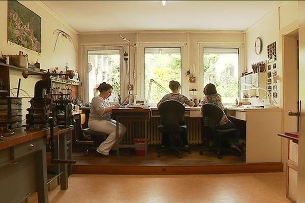 L'atelier Cheron-Tessier, à Limoges.