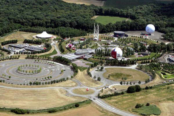 Une vue aérienne du  Parc du Petit Prince