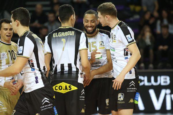 Poitiers est allé s'imposer 3 sets à 0 à Ajaccio le 21 janvier 2020 en championnat de Ligue A.