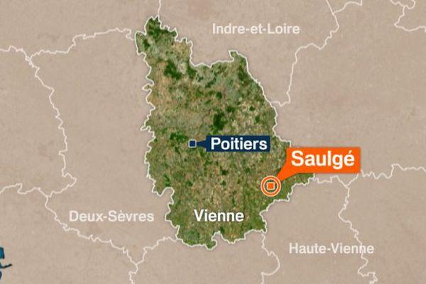 Saulgé, Vienne.