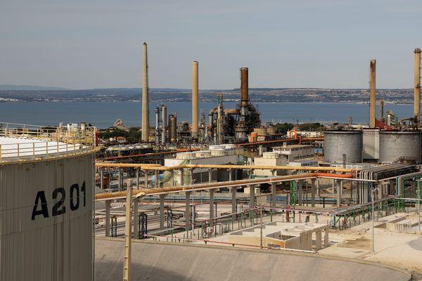 Bioraffinerie Total La Mède