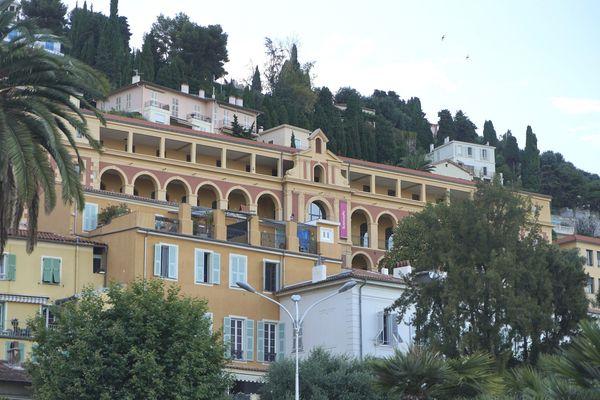 """Le campus """"Moyen-Orient et Méditerranée"""" de Sciences-Po, à Menton (Alpes-Maritimes)."""