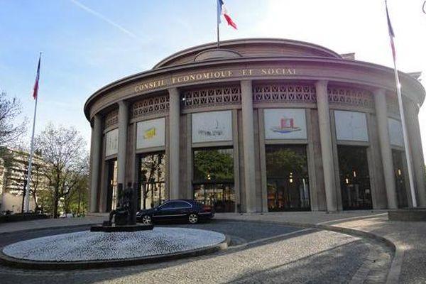 La Convention Citoyenne pour le Climat se réunit au Palais d'Iéna, à Paris.