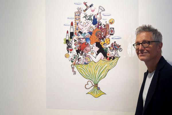 Guillaume Bouley présent l'Amour avec accent à l'espace Cosmopolis de Nantes