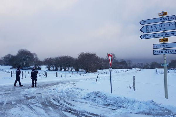 L'appareil s'est écrasé sur la commune de Mignovillard dans le Jura