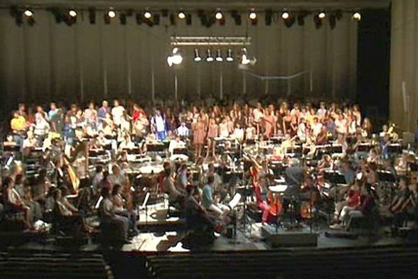 Montpellier - La Messe en ouverture du festival de Radio France Montpellier et Languedoc-Roussillon - 10 juillet 2013.