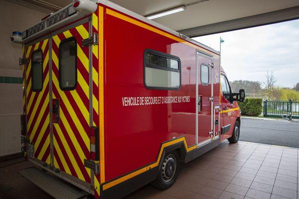 Dans l'Oise, comme ici à Noailles, les pompiers sont mobilisés dans la lutte contre le coronavirus.