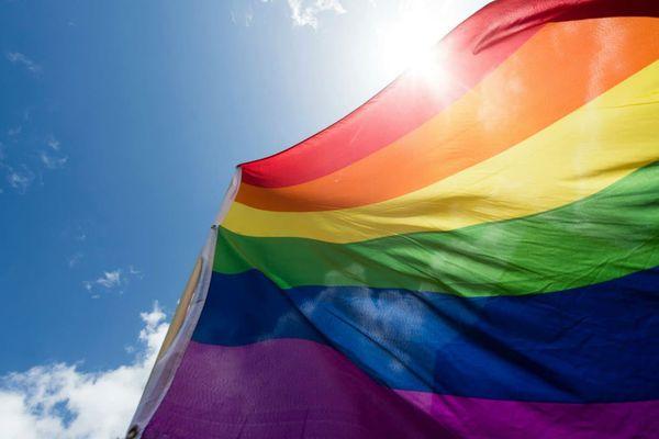 Un drapeau LGBT. Photo d'illustration - GREGOR FISCHER / DPA / AFP