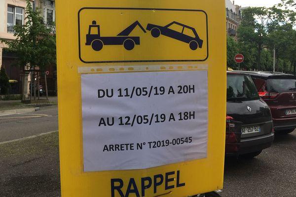 Circulation et stationnement perturbés ce dimanche à Strasbourg