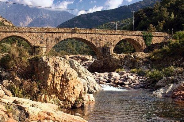 ILLUSTRATION- Le Fango est un petit fleuve côtier du département de la Haute-Corse