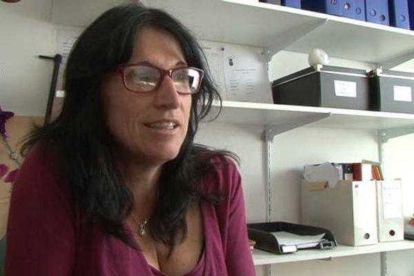 Claire Dufour, nouveau maire de Reillanne