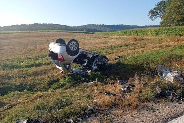 L'enquête est en cours pour déterminer la cause de l'accident.