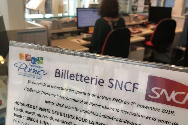 L'office de tourisme de Pornic fait désormais guichet SNCF
