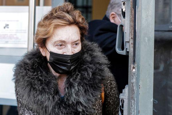 Nice, le 8 janvier 2021 : Jacqueline Veyrac, 80 ans, a témoigné au procès devant la cour d'Assises des Alpes-Maritimes.
