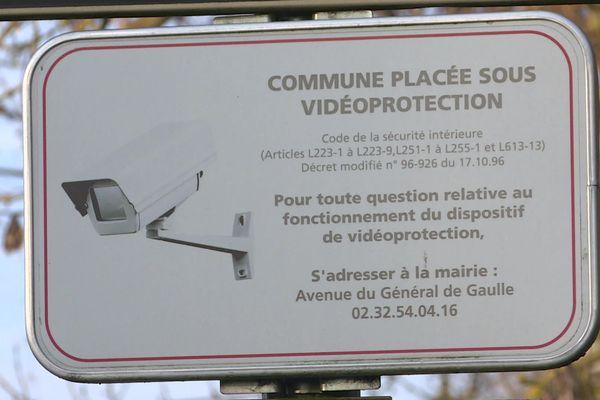 des caméras déjà présentes dans de nombreuses communes de l'Eure