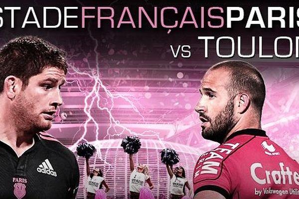 Le Stade Fançais va tenter ce week-en de faire tomber le leader du Top 14, le RC Toulon, lors d'une rencontre jouée au Grand Stade de Lille.