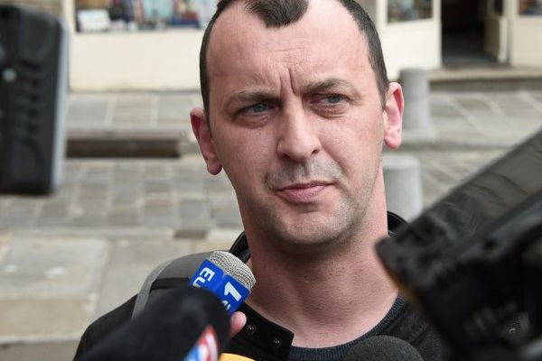 Franck Lavier, en juin 2015.