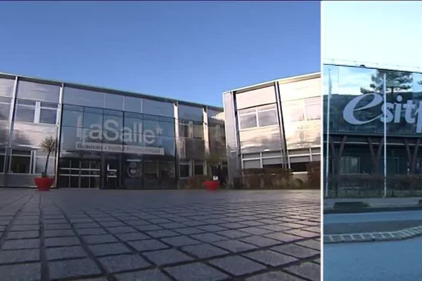 L'institut Lasalle de Beauvais a fusionné au 1er janvier avec l'ESITPA de Rouen.