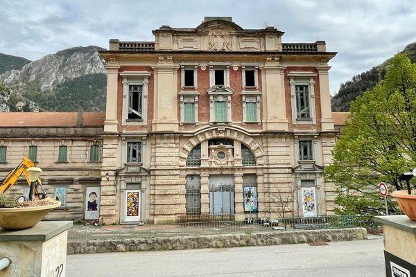 La gare de Saint-Dalmas de Tende à l'heure actuelle