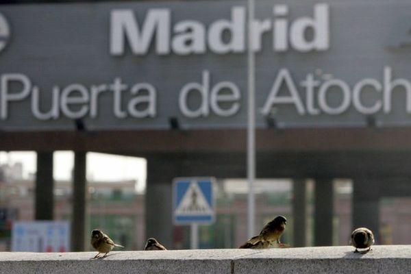 La gare de Madrid est à 4h00 de Perpignan en TGV.