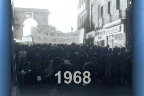 En mai 1968, la jeunesse étudiante se révolte contre les valeurs de la société traditionnelle.