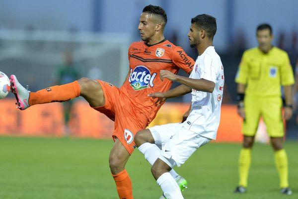 Rachid Aliou, l'auteur d'un des trois buts contre l'AJ Auxerre, illustration