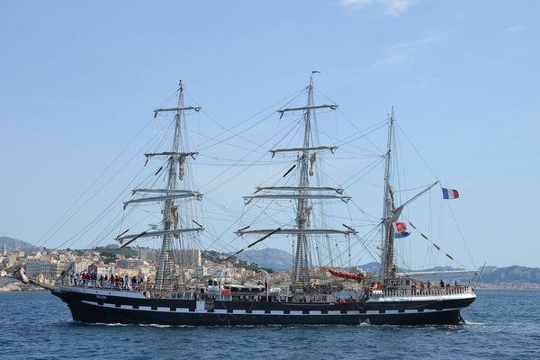 Le Belem fait escale samedi et dimanche à Marseille