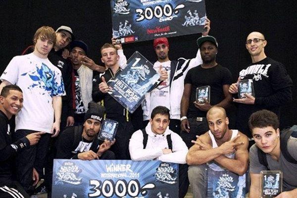Déjà en 2011, les Vagabonds Crew avaient remporté la Battle of the Year