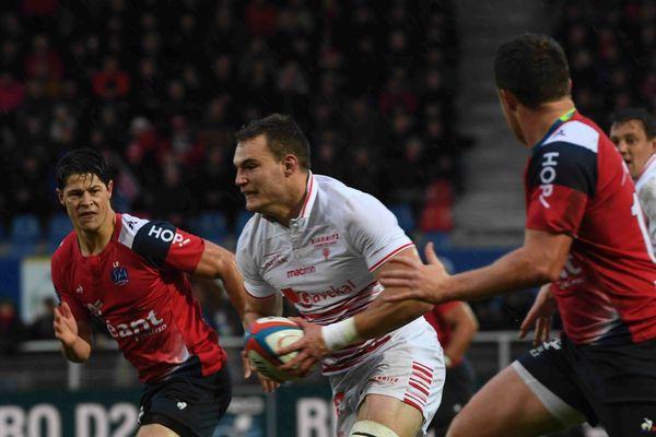 Le Stade Aurillacois, battu le 26 avril par Biarritz, est dans la zone rouge et risque de perdre sa place en Pro D2.