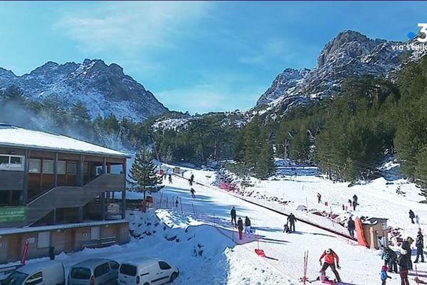 La station de ski d'Asco a rouvert ses portes en 2015 après plus de 20 ans de fermeture.