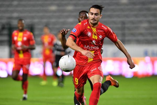Meilleur buteur de National 1 (21 buts), Andrew Jung a grandement contribué à la remontée de Quevilly-Rouen-Métropole en Ligue 2.