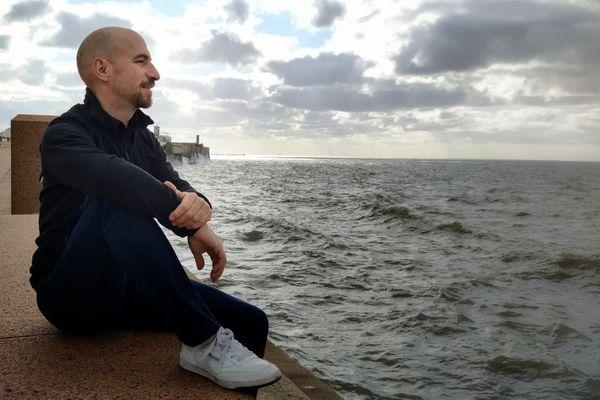 Ivan, Bisontin, s'apprête à rejoindre l'Uruguay en voilier.