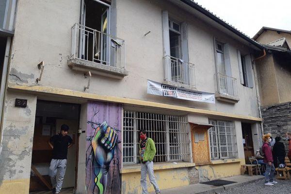 Le Refuge solidaire, lieu d'accueil des migrants de passage à Briançon (Hautes-Alpes), est menacé de fermeture